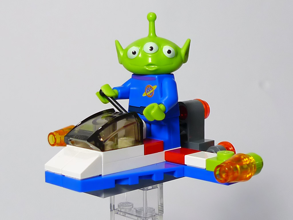 レゴ トイ ストーリー3 エイリアン スペースシップ レビュー レゴ系 Lego Kei